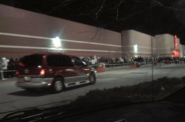 Target Black Friday Lines