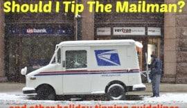should I tip the mailman