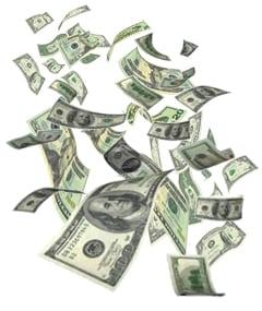 windfall of money