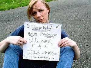 begging handout