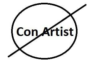 scam artist con