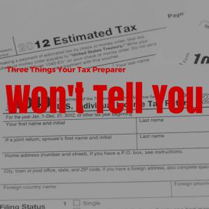 Tax Preparer Lies
