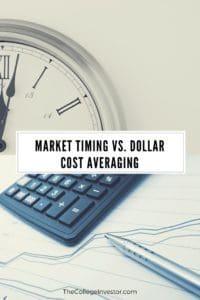 Market Timing vs. Dollar Cost Averaging