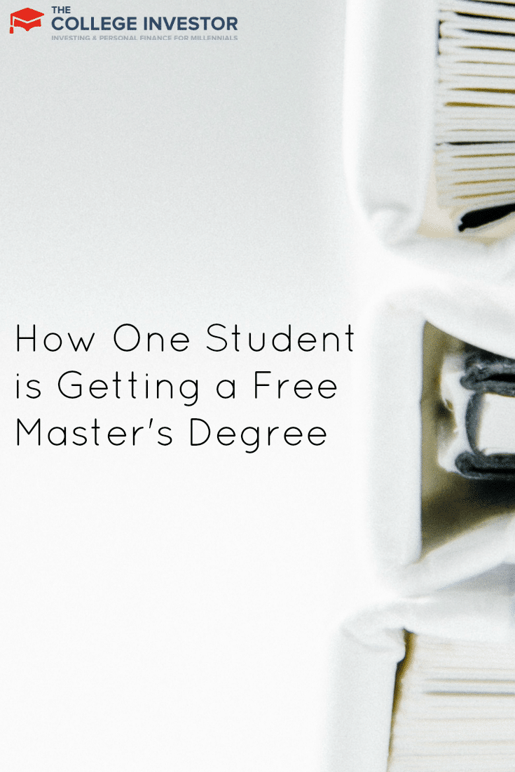 how one student is getting a master s degree