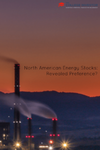 North American Energy Stocks: Revealed Preference?