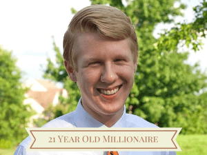 21 Year Old Millionaire Nate Webster