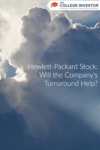 Hewlett-Packard Stock: Will the Company's Turnaround Help?