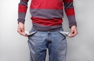 broke college student