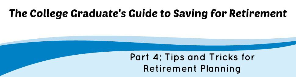 tips tricks retirement planning