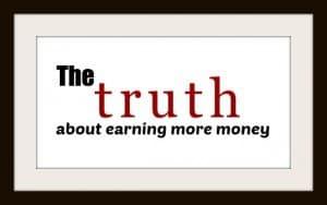 earning more money