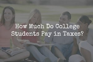 college students taxes