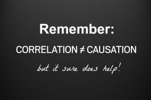 correlation causation