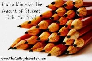 Minimize Student Loan Debt