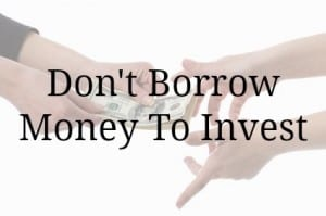 borrow money invest