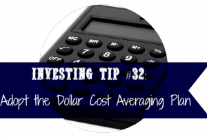 adopt the dollar cost averaging plan