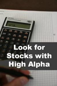 high alpha