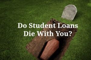 student loans die
