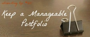 manageable portfolio