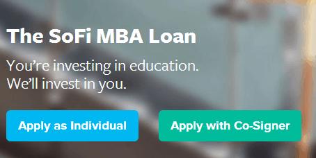 sofi MBA loan