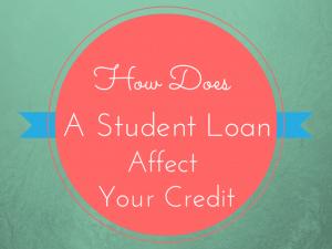 student loan credit