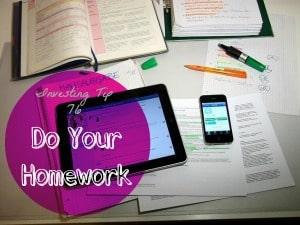 investing homework