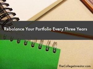 rebalance your portfolio