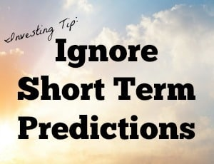 ignore short term predictions