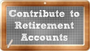contribute to retirement accounts