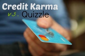 credit karma vs. quizzle