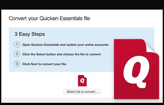 Quicken Mac Import Data