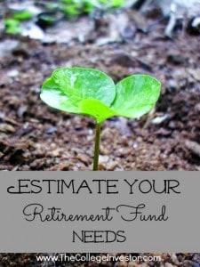 retirement fund needs