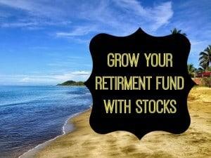 stocks for retirement planning