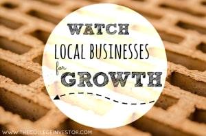 invest in local businesses