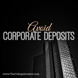 corporate deposits