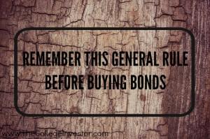 general rule before buying bonds