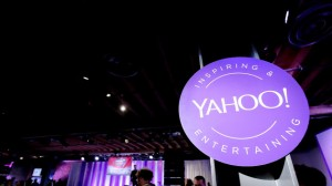Yahoo stock price rises
