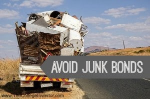 Avoid junk bonds
