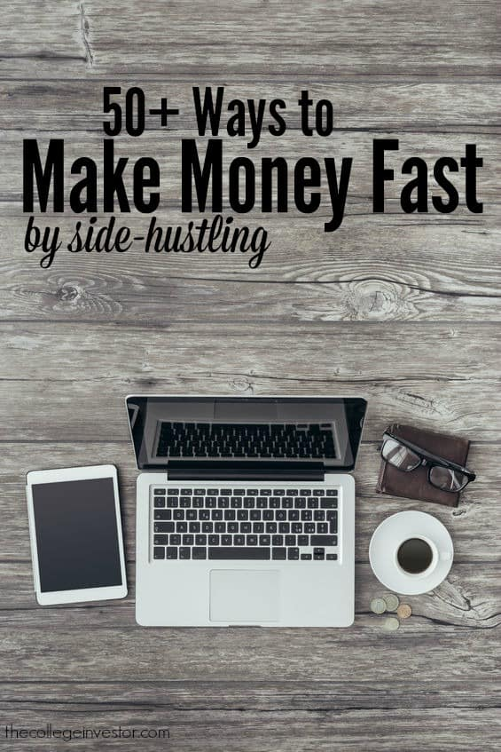 50 side hustles you can use to make money fast
