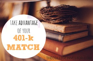 You must avail the match on your 401k plan. Find out why.
