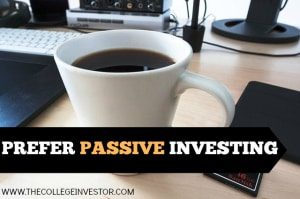 Investing for the long term? Choose passive investing - not active investing.