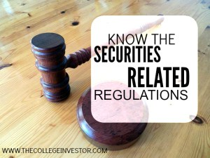 Know the Securities Related Regulations