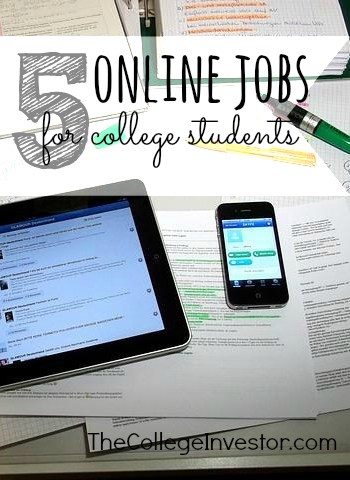 5 Online Jobs For College Students To Make Money