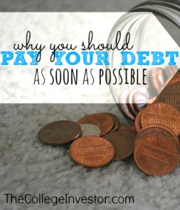 When it comes to debt you always have two options: pay now or pay later. Here's why you should always choose pay now.