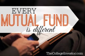 Every Mutual Fund is Different