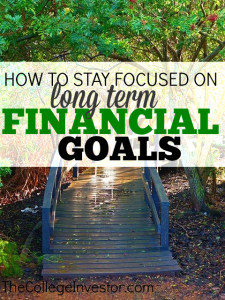 Do you find it hard to stay focused on long term financial goals? Here's how I keep my motivation for those far out deadlines!