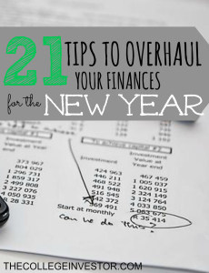 The year is quickly coming to a close. If you're ready to make next year amazing here are tips to overhaul your finances.