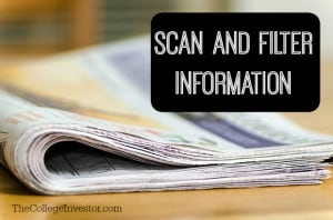 You have a wide access to a vast pool of information. Here is a word of caution. Many sources carry biased, false and misleading information.