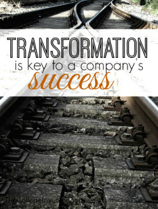 When Choosing Company's to Invest in Transformation is the Key to a Company's Success