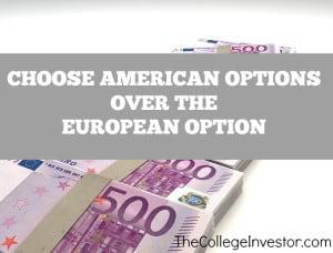 American Option Over European Option
