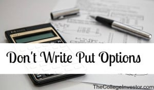 don't write put options